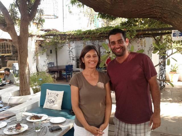Ulrike Rodrigues and Ralph Pinto at Maracas