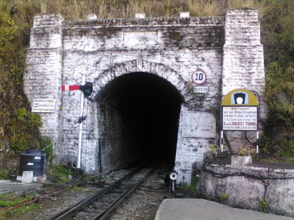 Long tunnel